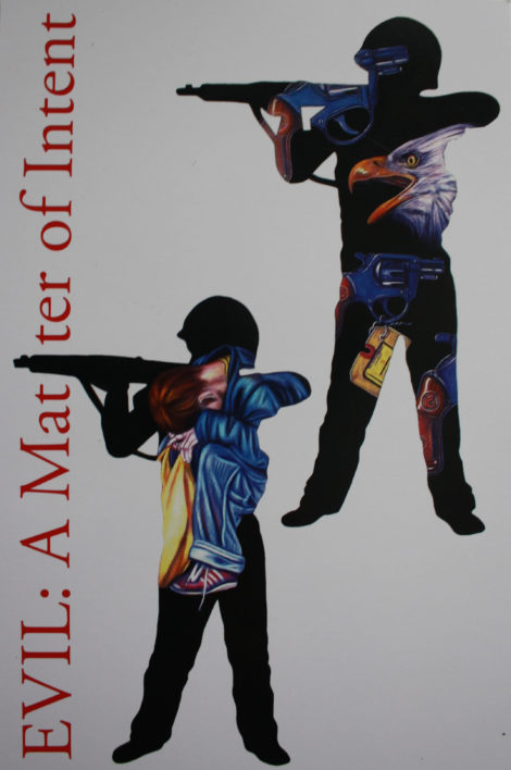 Boy with a gun, by Grace Graupe-Pillard