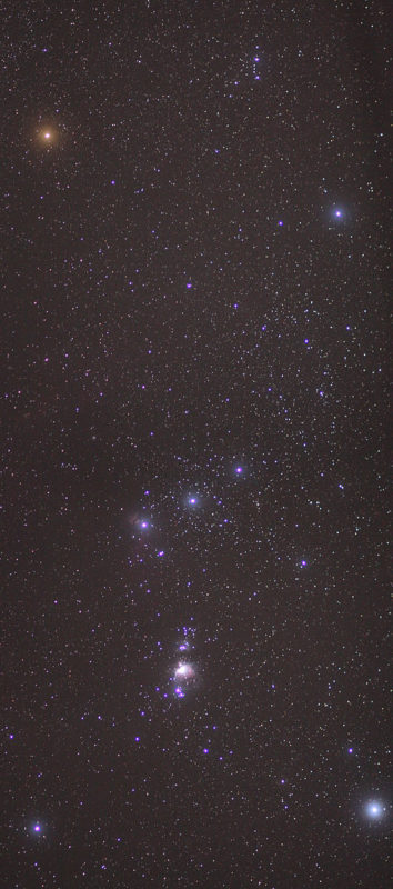 EYES TO THE SKY: Winter Solstice journey to Orion nebula  