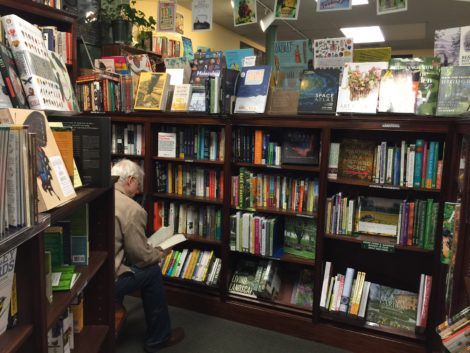 Reading books make the Bookloft special, but hard to leave.