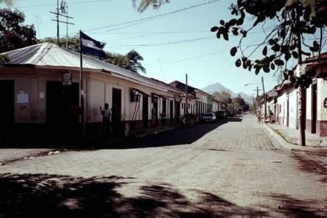 The main street in Malpaisillo.