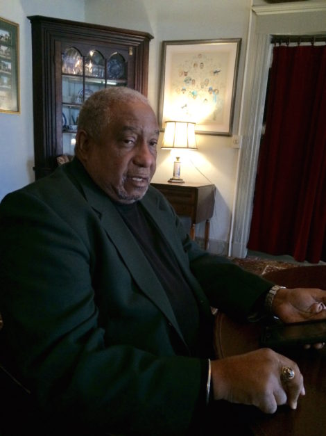 Dr. Bernard Lafayette at the Red Lion Inn. Photo: Stephanie Kouloganis