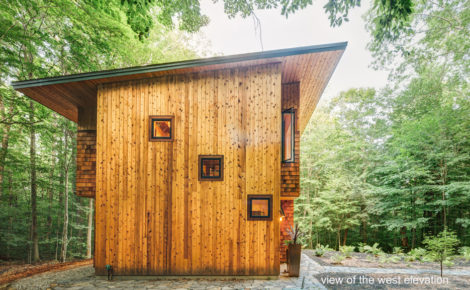 Conzett House, designed by Stephen Dietemann. Photo: Paul Puiia.