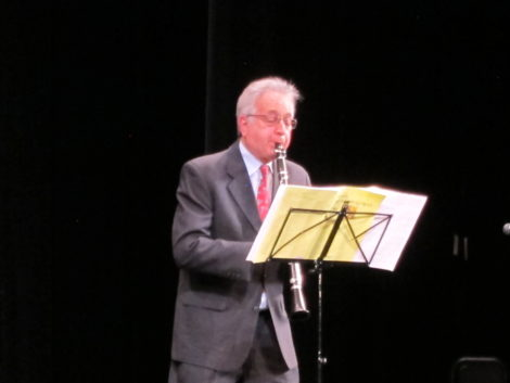 Clarinetist Paul Green, performing Béla Kovacs' 'Klezmer Melody.'