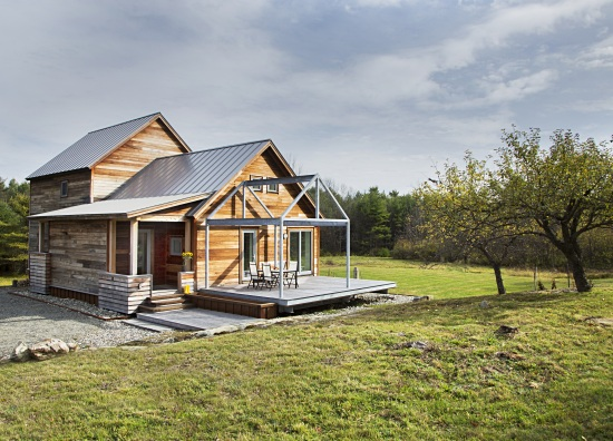 This Passive House looks like any normal house. The construction features that make it energy efficient hardly show.