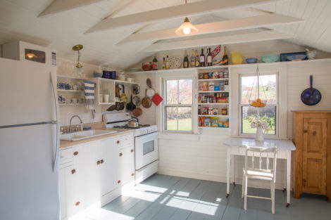 The original kitchen in the cottage. Photo: Karen Beckwith
