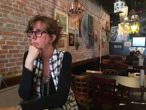 Lori Weller in the Gypsy Joynt. Photo: David Scribner
