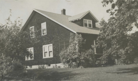 The view from the west-facing side, circa 1930s. Photo courtesy of Jones Library Frost Collection.