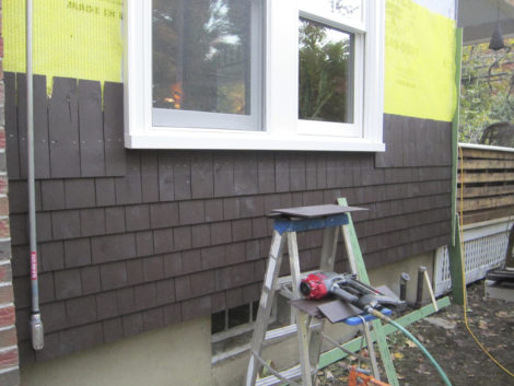 Four: New windows and shingles. Photo Credit: Thomas RC Hartman