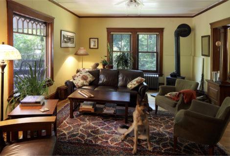 New windows within original interior trim Photo: Ethan Drinker Photography