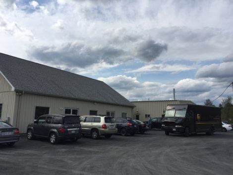 The Chamberlain Group facility on South Street in Great Barrington, across from the Bistro Box. Photo: Heather Bellow
