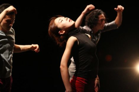 Bereishit Dance Company, in performance at Jacob's Pillow this week.