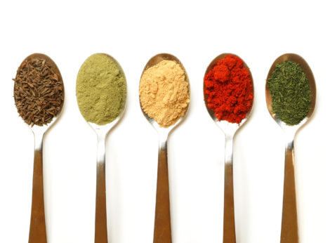 My color palette was inspired by the striking colors I saw at a local spice store. Photo: Zsuzsa N.K.