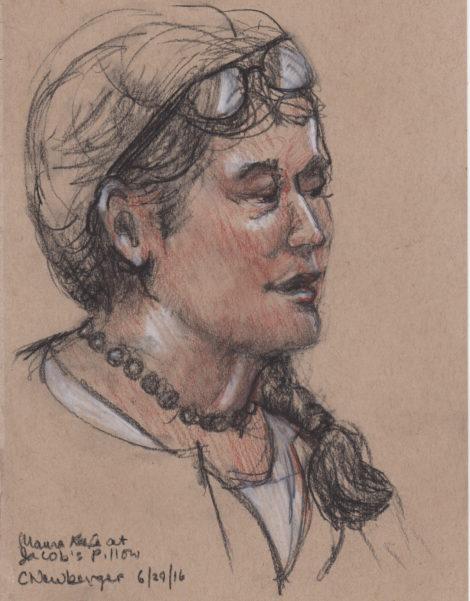 Maura Keefe. Illustration by Carolyn Newberger