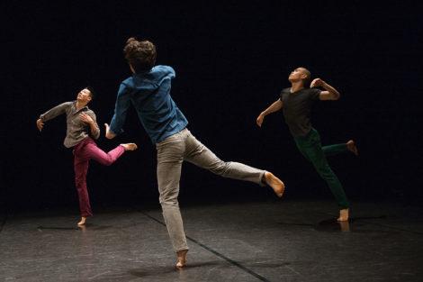 'Balance and Imbalance,' Bereishit Dance Company at Jacob's Pillow. Photo: Christopher Duggan