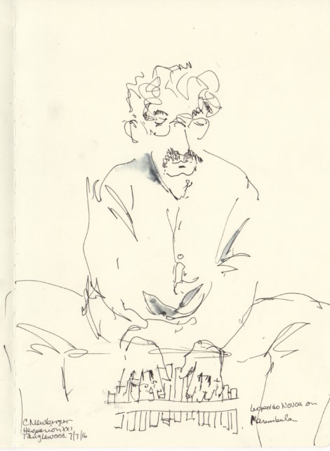 Leopoldo Novoa on Marenbula. Illustration by Carolyn Newberger