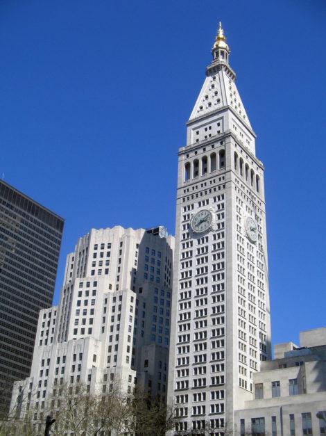 The Metropolitan Life Tower.