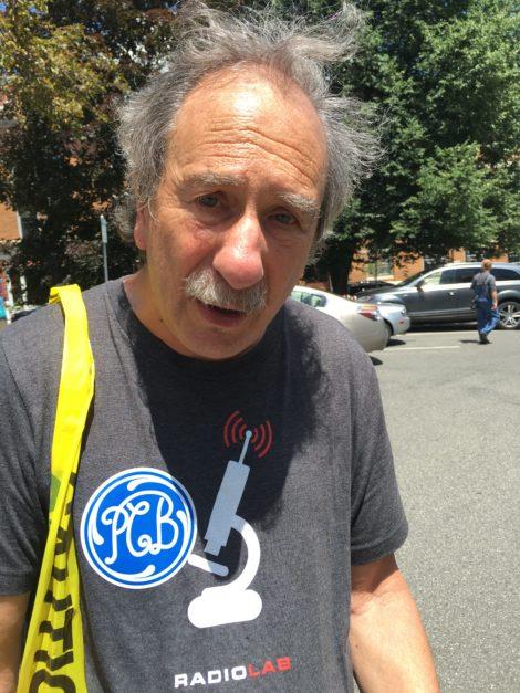 Environmental activist Benno Friedman. Photo: David Scribner