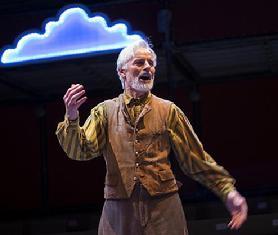 John Hadden as Launce. Photo: Ava G. Lindenmaier.