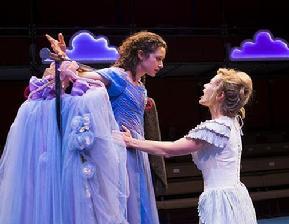 Kate Abbruzzese as Julia and Tamara Hickey as Lucetta. Photo: Ava G. Lindenmaier.