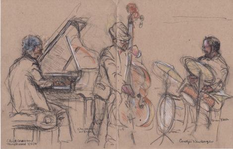 The Chick Corea Trio. Illustration: Carolyn Newberger
