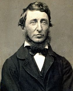 Henry David Thoreau by Benjamin D. Maxham, 1856.