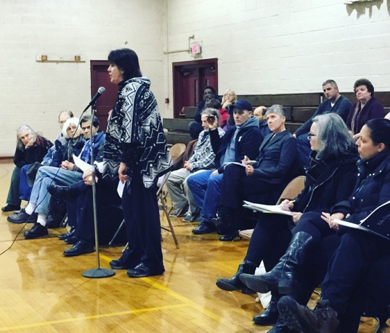 At a DPU hearing last January, residents told the agency they were already struggling to pay bills and that a 33 percent rate hike would hurt. Photo: Heather Bellow.