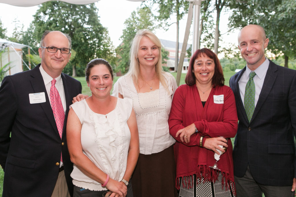 Mark Volpe, Michele Butler, Giovanna Fessenden, Cindy Bartlett, and State Sen. Benjamin Downing at 1Berkshire's Celebrate the Berkshires event on Thursday, Sept. 15.