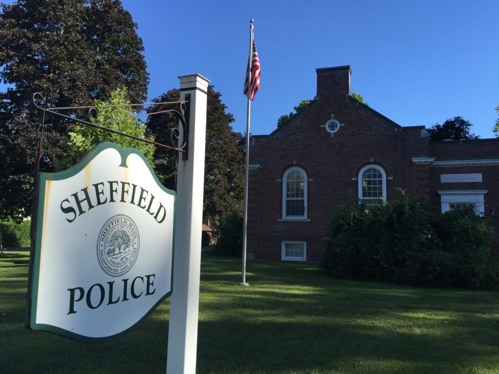 The Sheffield Police Department and the town of Sheffield are also investigating the incident, and reviewing department policies. Photo: Heather Bellow.