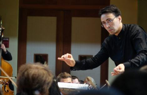 Conductor Ken-David Masur. Photo: Hilary Scott