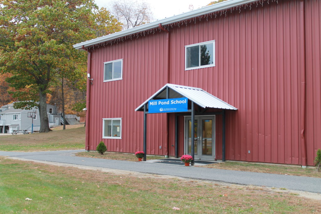 The classroom building at the Children's Study Home's Mill Pond Berkshire campus.