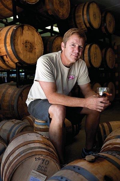 Founder, owner, distiller Chris Weld.