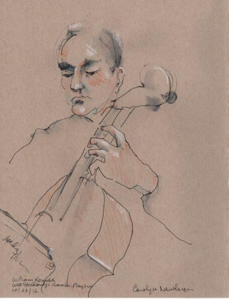 Cellist William Rounds.