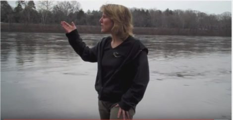 Maya van Rossum, director of the Delaware Riverkeepers.