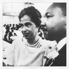 Rosa Parks and Martin Luther King Jr.