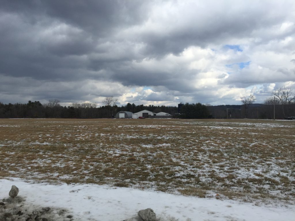 The Coons farm off of West Plain Road. Photo: Heather Bellow