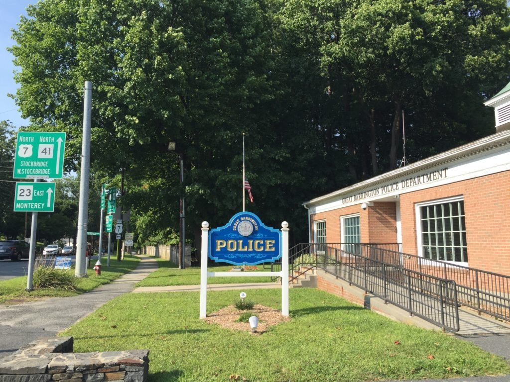 The Great Barrington Police Department. Photo: Heather Bellow