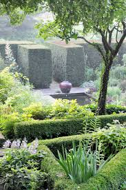 At Hollister House, after the courtyard, the parterre and gardens below.