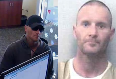 Police say Sheridan, 36, was unarmed when he robbed Salisbury Bank and Trust Company, 310 Main St. in Great Barrington, on Monday afternoon.