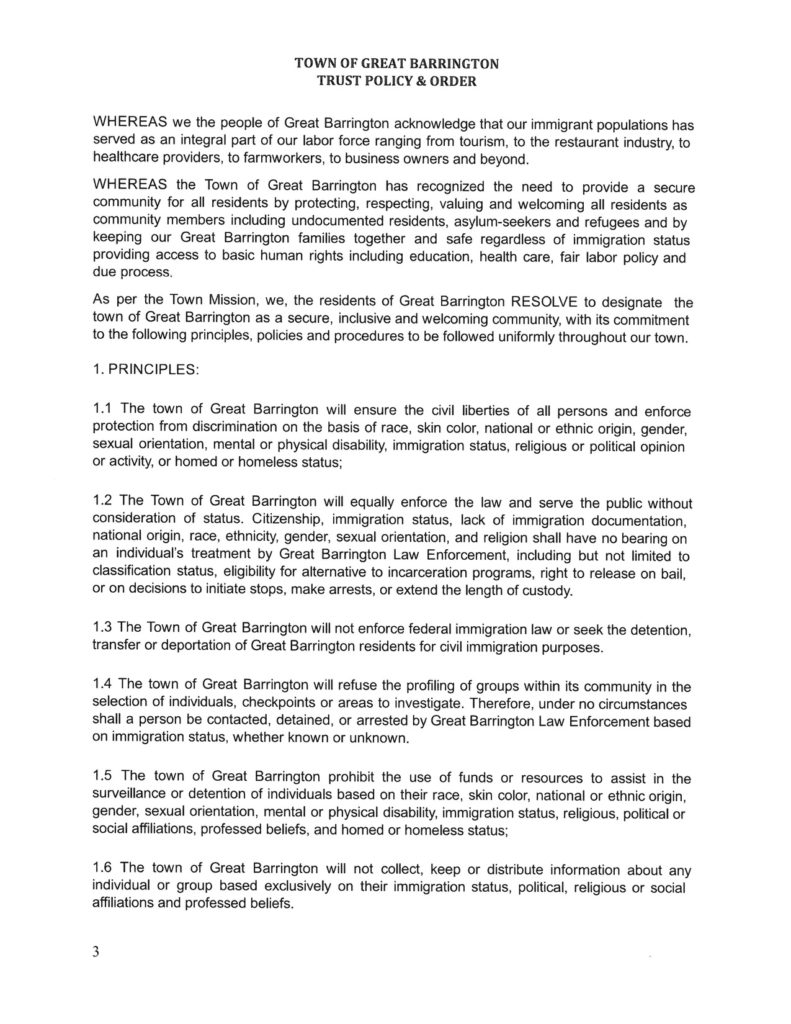 Trust Policy page 2