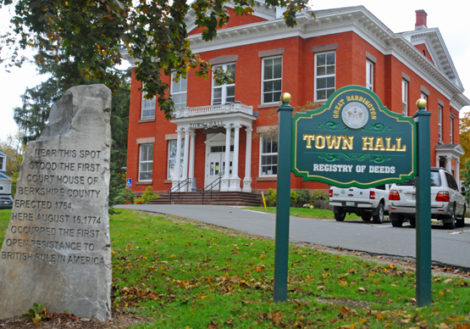 The roof on Great Barrington's historic Town Hall is in need of repair. CPA would allocate $150,00 for the work.