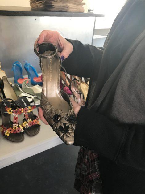 Shoes by Bottega Veneta.