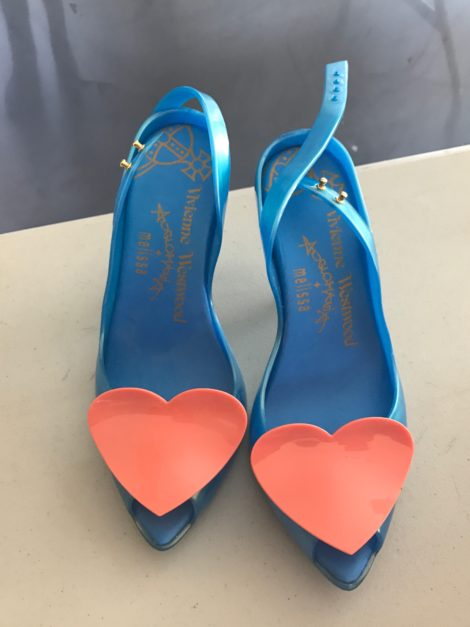 Heart shoes by Vivienne Westwood in collaboration with Melissa.