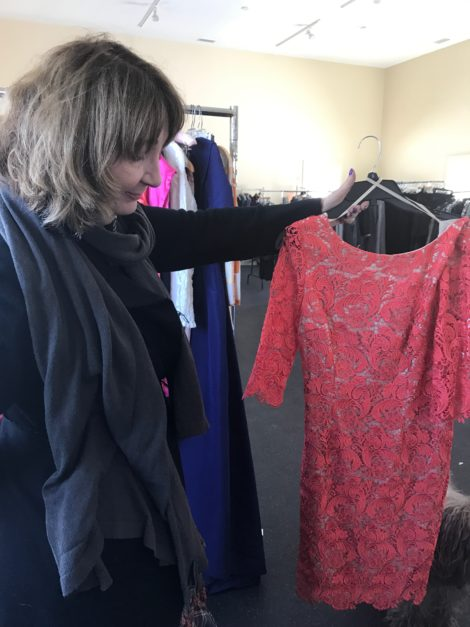 Vicki Bonnington with another fashion item for sale at BerkChique!