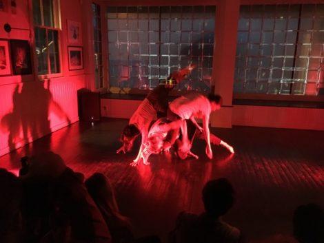 'Dear Bones' in performance.