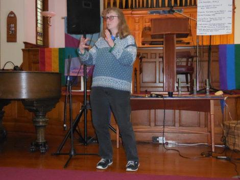 Jane Winn of the Berkshire Environmental Action League. Photo: Terry Cowgill