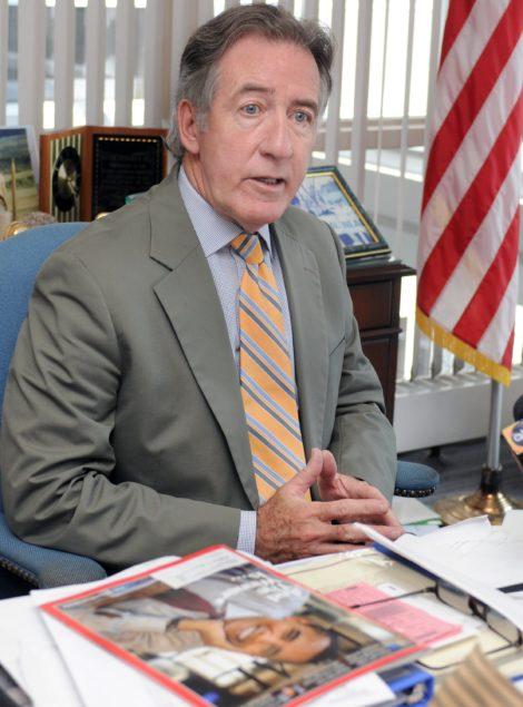 U.S. Congressman Richard E. Neal, D- Springfield.