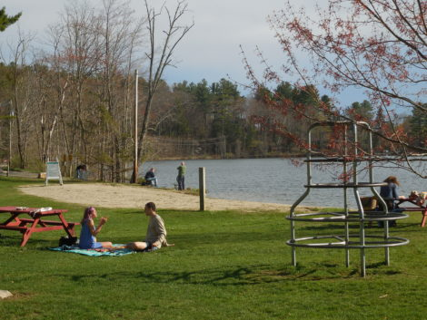 CPA funds would also underwrite improved access to Lake Mansfield Recreation Area. Photo: Terry Cowgill