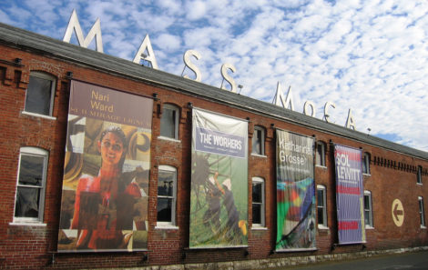 Massachusetts Museum of Contemporary Art (MASS MoCA) in North Adams is a world renowned visual and performing arts venue.