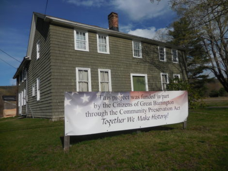 The Great Barrington Historical Society's Wheeler House Museum on South Main Street. Photo: Terry Cowgill