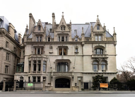 The Vanderbilt mansion on Fifth Avenue in New York City.